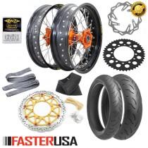 KTM Supermoto Kit 'A' FasterUSA / Excel