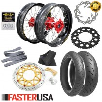 Honda Supermoto Kit 'A' FasterUSA / Excel CR/CRF/CRX/L