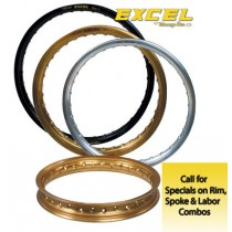 Excel Rims Takasago Honda Rear (Choose size for price)