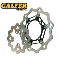 HONDA Galfer Rear Brake Rotors
