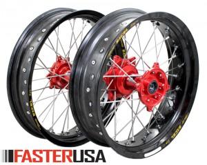 Honda Supermoto Wheelset FasterUSA / Excel CR/CRF/CRX/L